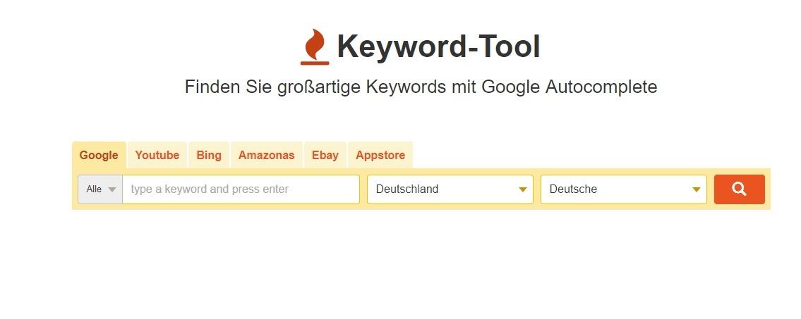 Finden Sie großartige Keywords mit Google Autocomplete