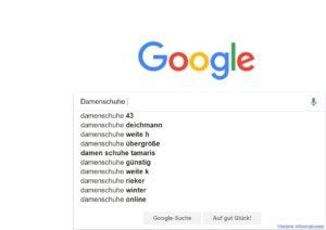 So finden Sie die häufigsten Suchanfragen zu einem Themengebiet lt. Google Suggest