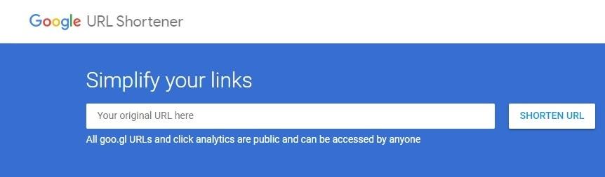 Google URL Shortener goo.gl wird zu Firebase Dynamic Links