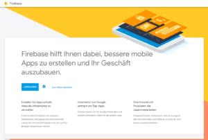 google Firebase hilft Ihnen dabei bessere mobile Apps zu erstellen und Ihr Geschäft auszubauen