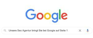 Unsere Seo Agentur bringt Sie bei Google auf Seite 1