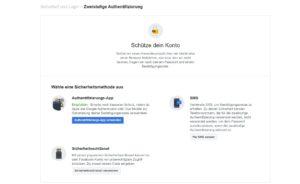 So aktivieren Sie die Zweistufige-Authentifizierung auf Facebook